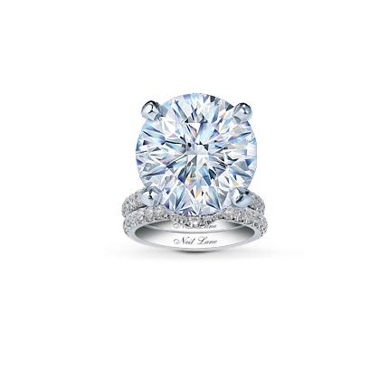 Neil Lane Bridal Setting 1 ct tw Diamonds 14K White Gold Jared The