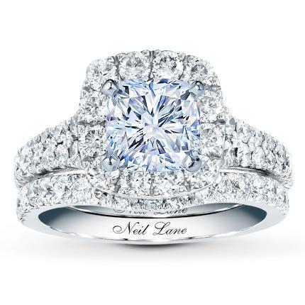 7f31c93b2 Neil Lane Bridal Setting 1-5/8 ct tw Diamonds 14K White Gold - Jared The  Galleria Of Jewelry