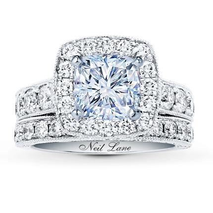 346949d9f Neil Lane Bridal Setting 1-7/8 ct tw Diamonds 14K White Gold - Jared The  Galleria Of Jewelry