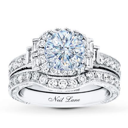 3f591dfdd9e1 Neil Lane Bridal Setting 1-3 8 ct tw Diamonds 14K White Gold - Jared The  Galleria Of Jewelry